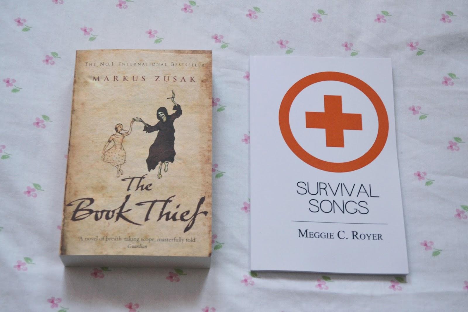 the book thief markus zusak survival songs meggie royer