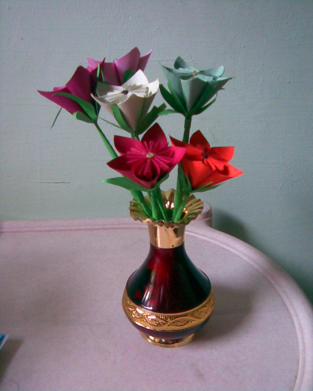 Creativeart Origami Flowers