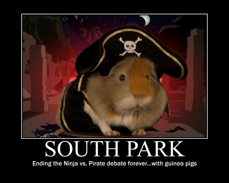 how to catch guinea pig south park