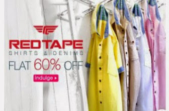 Buy Stylish & Unique Red Tape – Shirts at FLAT 60% OFF at Rs. 699 : Buy To Earn
