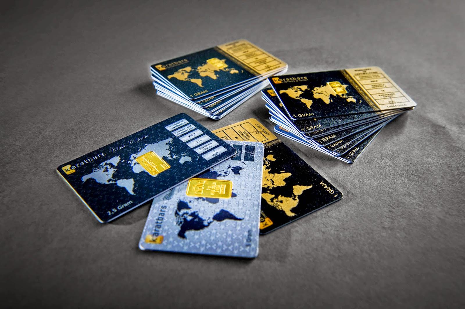 Los Karatbars de oro puro son dinero efectivo en cualquier momento y en cualquier parte del mundo.