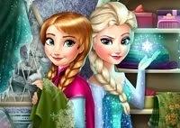 Frozen Anna Y Elsa Rivales de la moda