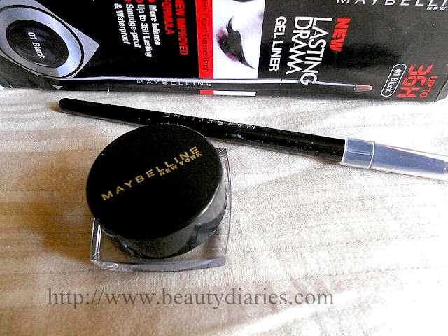 Maybelline New York's New 36 Hours Lasting Drama Gel Liner