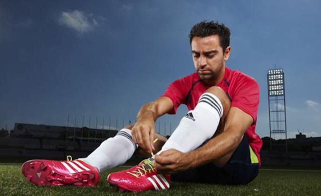 Xavi Hernandez, FC Barcelona, Barça, Adidas