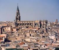 Foto de la ciudad de Toledo con la catedral al fondo