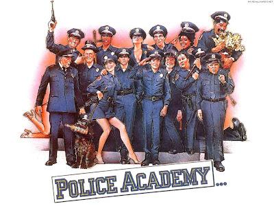 Polis akademisi sinema filminin hd divx posteri afişi