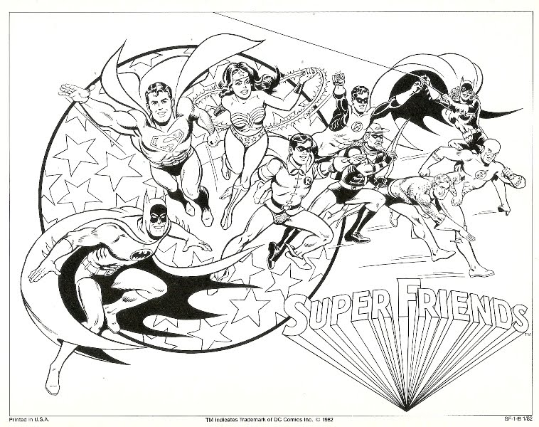 Amazing Marvel Super Heroes Coloring Pages 13675. The ArrowCave Let There Be Art