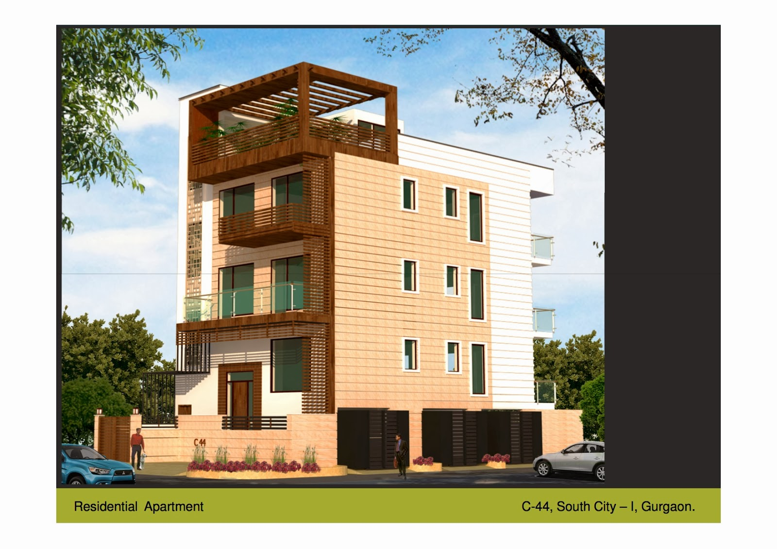 South city 1 gurgaon independent builder floors 250 sq for Builder floor