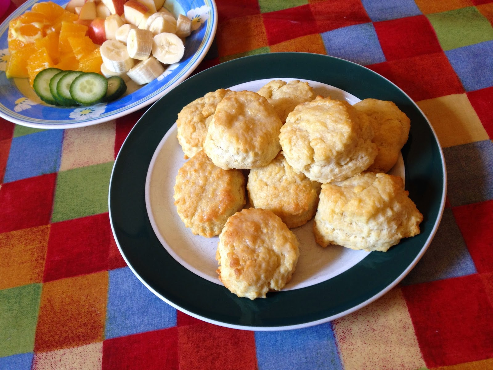 homemade American biscuits