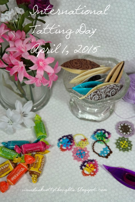 Tatting for International Tatting Day 2015