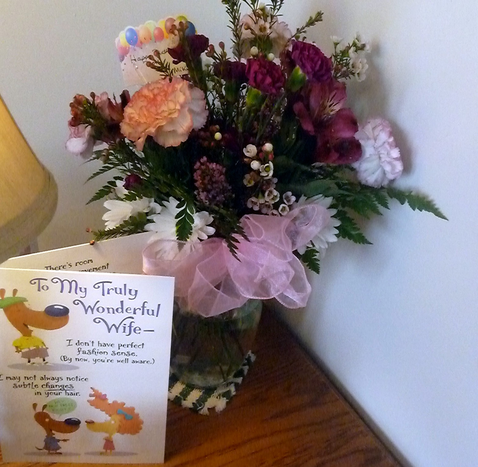 B Meandering My Birthday Flowers Share The Love
