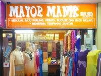 Butik Mayor Manik : Jahit Baju Melayu Bersulam