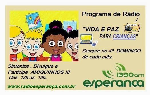 Programação Rádio/Web para Crianças