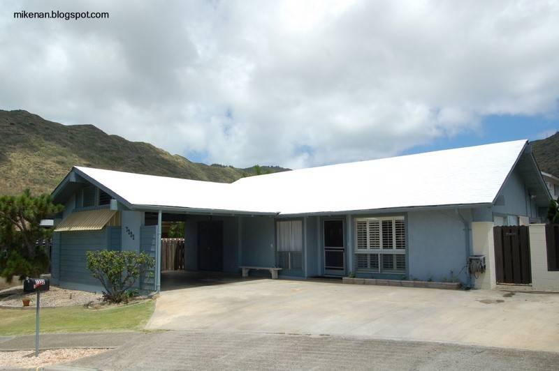 Arquitectura de casas pintura de techos blanca reduce for Colores para techos de casas