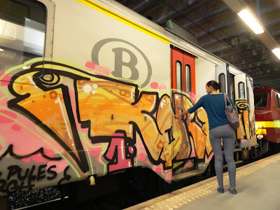 Art on trains