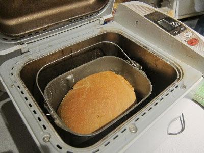 bread inside bread maker