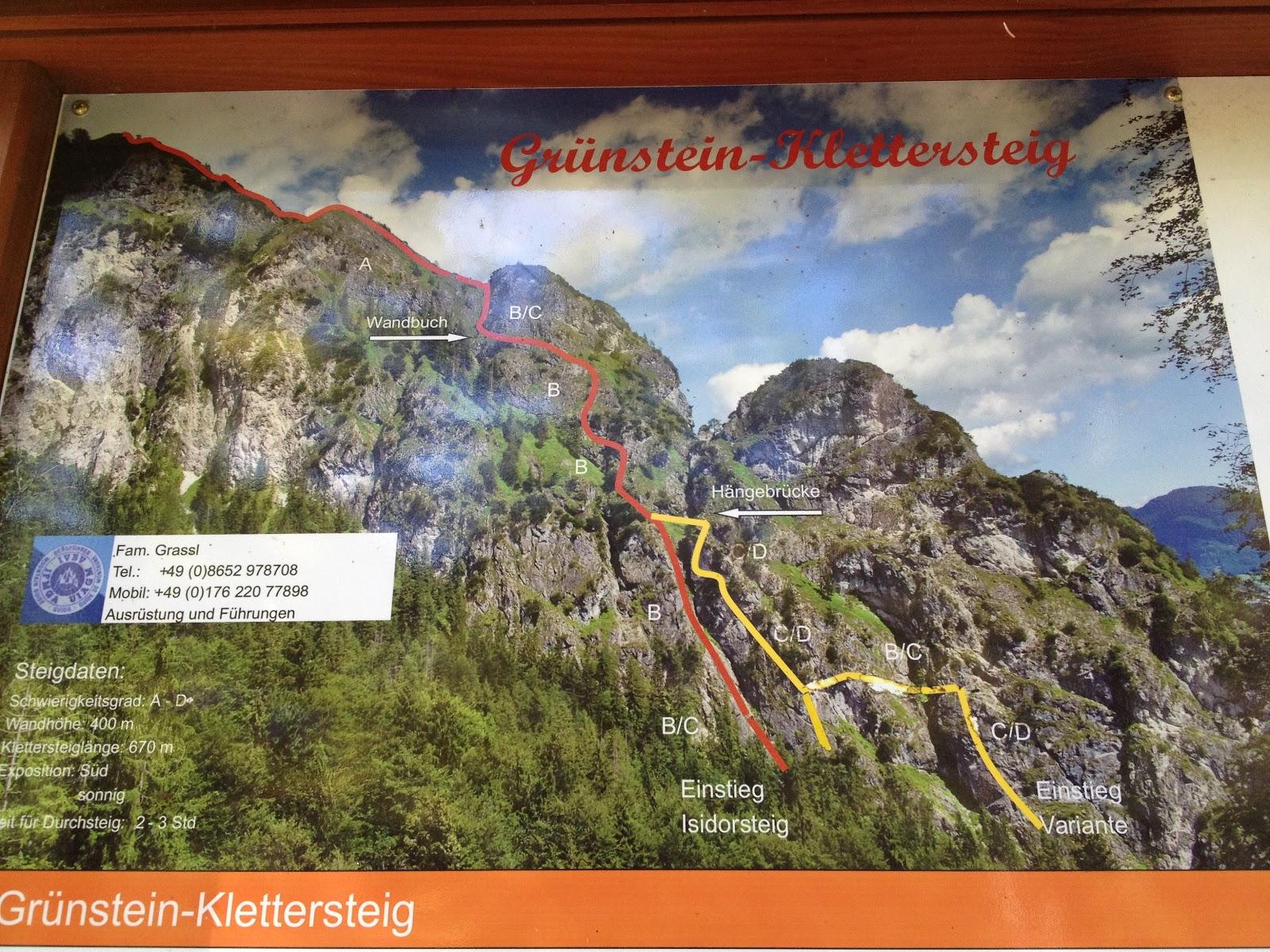 Klettersteigset Verleih Berchtesgaden : Free in the alps: grünstein klettersteig berchtesgaden!