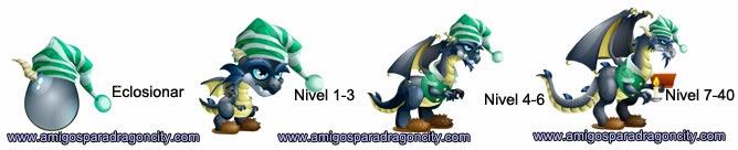 imagen del crecimiento del dragon scrooge