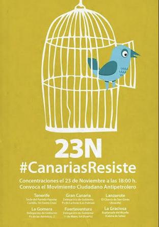 23N #CanariasResiste