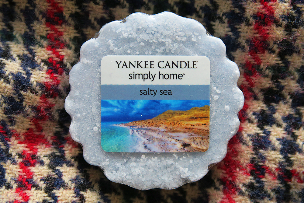 Asda Yankee Candle Salty Sea wax tart