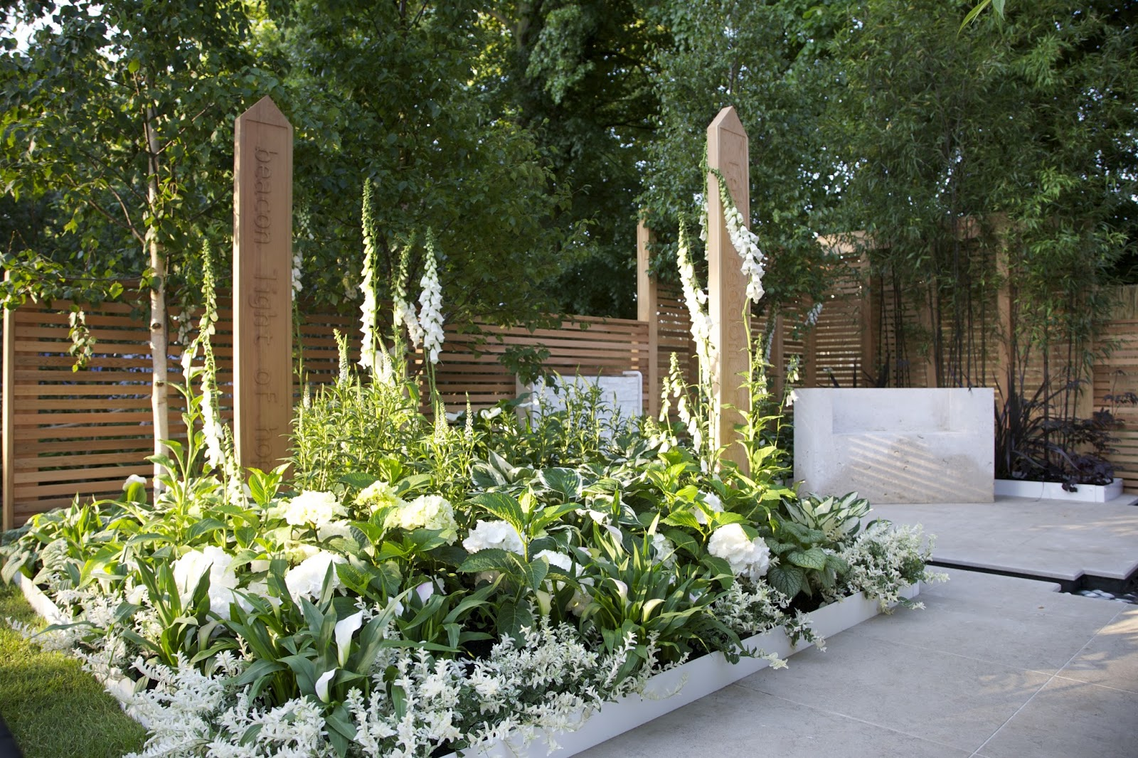 Classic and modern gardens ltd our blog white planting for Planting a garden