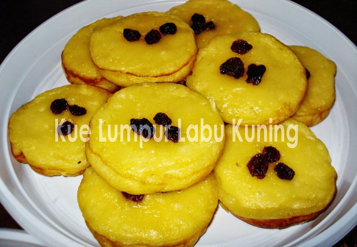 Resep Kue Lumpur dari Bahan Labu Kuning Enak