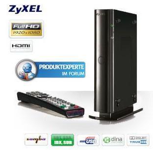 Full-HD-Media-Streamer Zyxel DMA-2501 bei iBood für 55,90 Euro inklusive Versandkosten