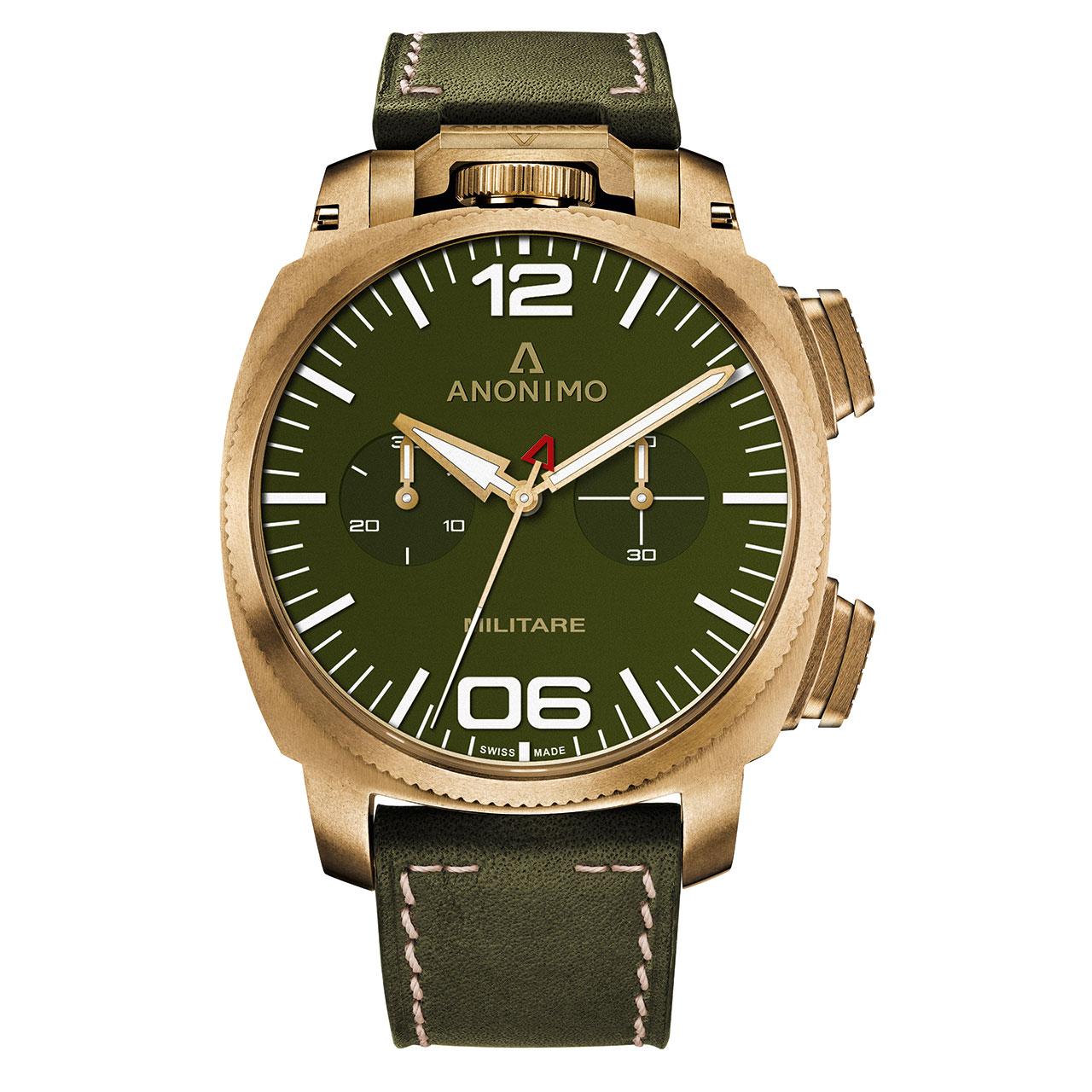 Anonimo Militare Millésime Alpini Chronograph Watch