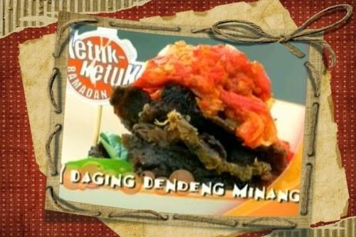 Ketuk-Ketuk Ramadan bersama Amar Asyraf, Tesco Kepong, Daging Dendeng Minang, Murtabak Bujang Salami