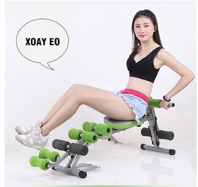 Máy tập bụng giảm cân trong nhà tech fitness