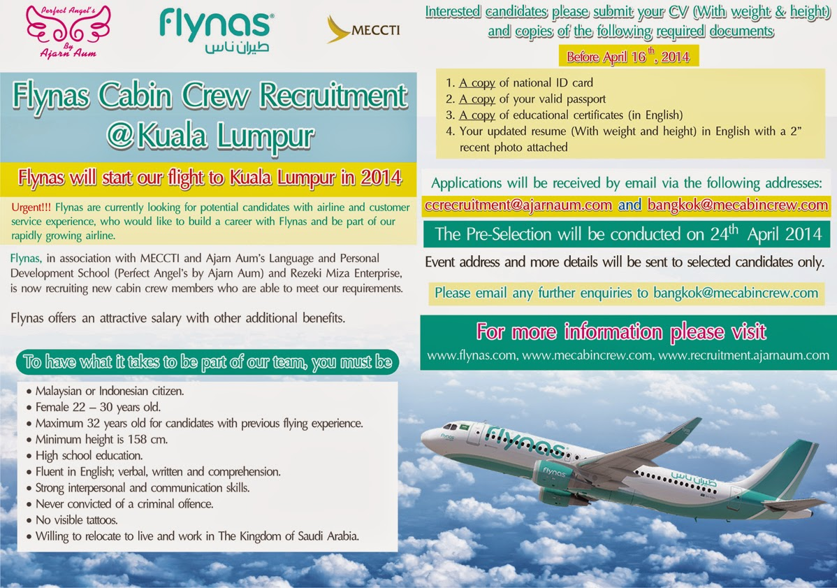 fly gosh flynas cabin crew recruitment