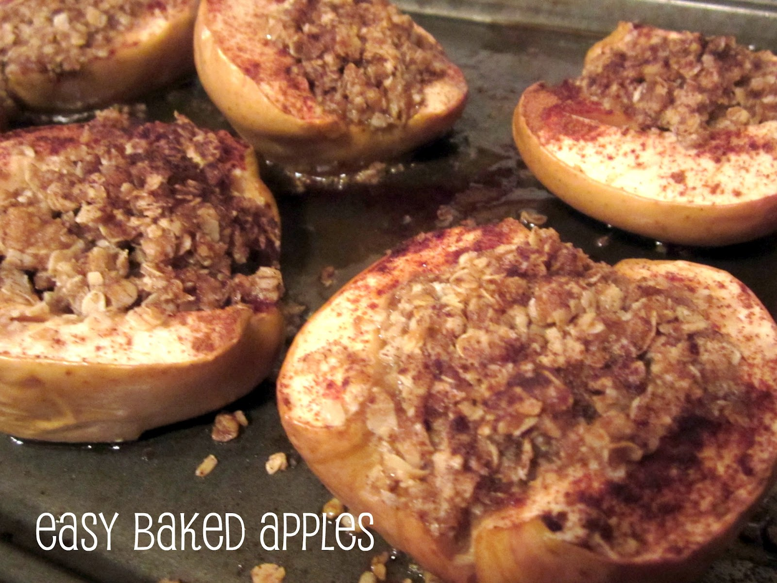 Kids in the Kitchen: Easy Baked Apples Recipe - B-Inspired Mama