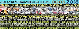 1-31/08/2018 - JUALAN KENDERAAN LELONG SELURUH MALAYSIA & SEKITAR KLANG VALLEY-SGR/K L