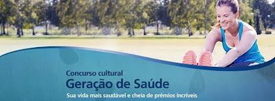 """Concurso Cultural  """"Geração Saúde"""""""