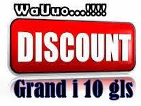 # Sepesial Promo April - New Grand i 10 gls MT