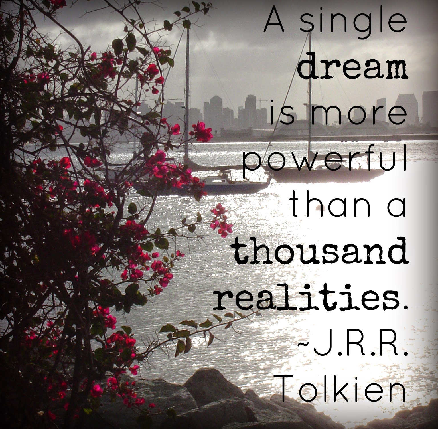 dream quote pic tolkien