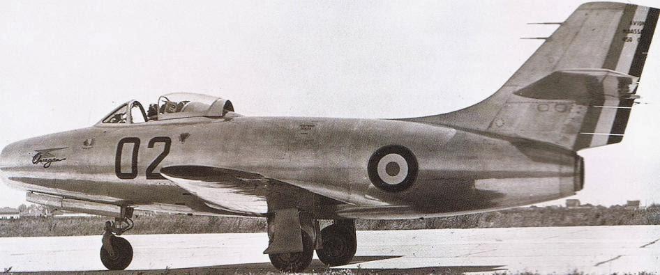 Histoire du Dassault ouragan