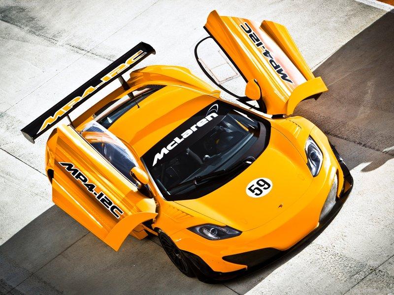 2011 McLaren MP4-12C GT3 Racing