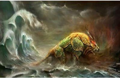 Nian yang ditakutkan dalam Legenda Tionghoa (IMLEK)