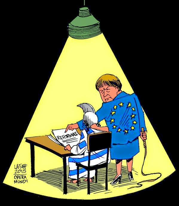 Γερμανική πειθώ! (by C. Latuff)