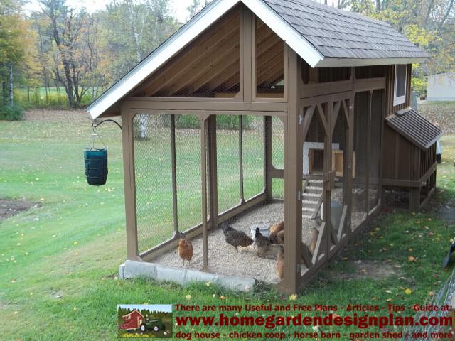 Home garden plans december 2013 for Chicken coop interior designs