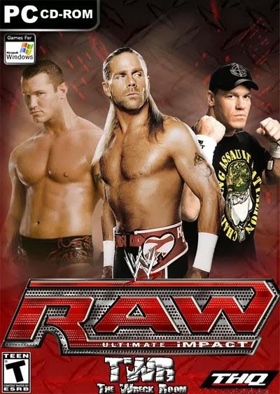 اكثر العاب المصارعة اثارة WWE Raw Ultimate Impact 2009 كاملة حصريا تحميل مباشر WWE+Raw+Ultimate+Impact+2009