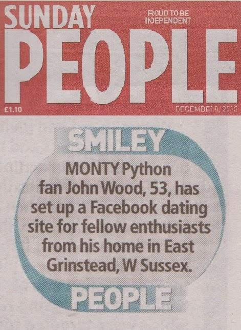 Monty python dating site
