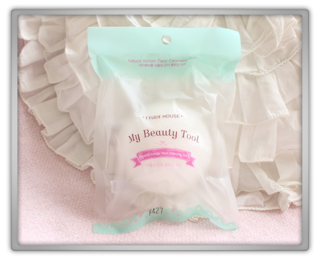 Jolse Etude House Beauty Tools Haul Review blog beauty blogger My Beauty Vegetable Konjac Cleansing puff