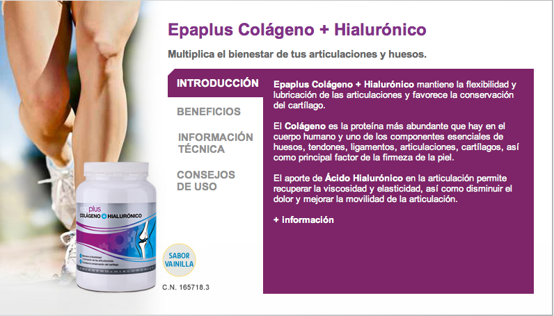 Colageno+Hialurónico Epa Plus