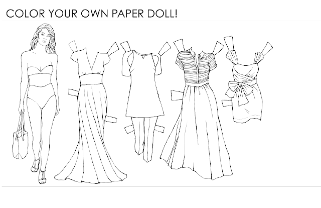 paper-dolls, adult-paper-dolls, adult-coloring-page, fashion-illustration-coloring-page