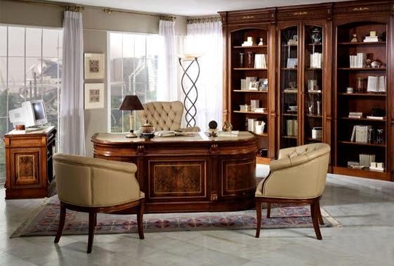 Muebles en madrid lo cort s no quita lo valiente - Muebles despacho clasico ...