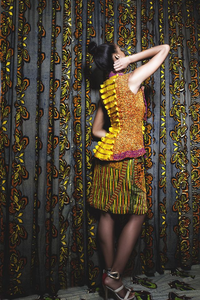 Iconic Invanity Spring/summer 2013 collection-nigerian fashion dresses