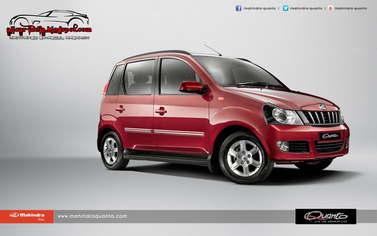 Automotive Craze Mahindra Amp Mahindra S New Quanto
