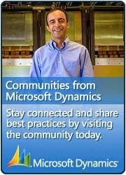 Microsoft Dynamics Community